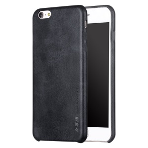 X-LEVEL Vintage Series Leather Coated Hard Case for iPhone 6s Plus / 6 Plus - Black