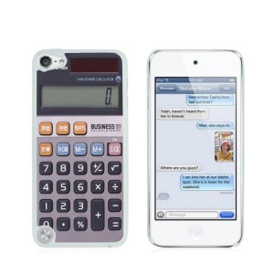 Creative Glossy Plastic Case for iPod Touch 5/6 - Calculator