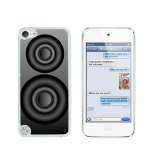Creative Glossy Plastic Case for iPod Touch 5/6 - Horn