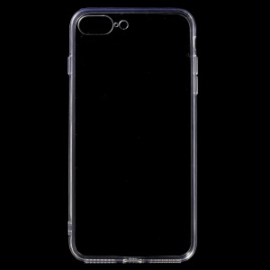 Clear TPU Bumper + Acrylic Back Case for iPhone 7 Pro