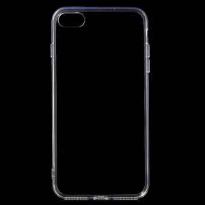 luminoso acrilico + TPU Custodia ibrida per iPhone 8 Plus / 7 Plus 5.5 inch - Trasparente