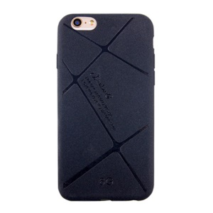 BOSILANG Lines Pattern Matte TPU Case for iPhone 6s 6 - Black