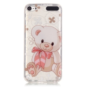 Soft IMD TPU Shell Case for iPod Touch 6 / Touch 5 - Cute Bear