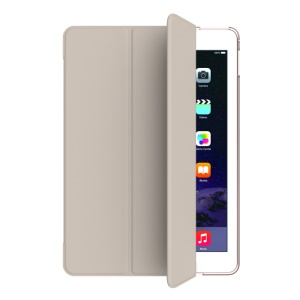 MOOKE Young Series Tri-fold Stand Smart Leather Case for iPad Pro 9.7 inch - Khaki