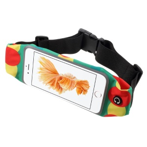 Touch Screen Music Sports Waist Bag Pack for iPhone 7 Plus/ 6s Plus/6 Plus 5.5-inch - Colour Circle