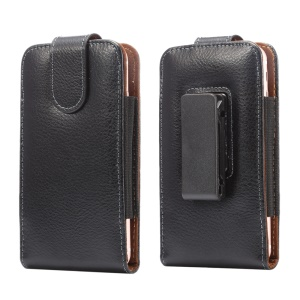Vertical Split Leather Holster Pouch Case with Belt Clip for iPhone 6s/6 Samsung S4 Etc