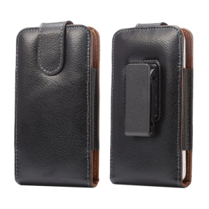 Split Leather Pouch Case Holster with Belt Clip for iPhone X 8/Samsung Galaxy S7/S6 edge etc
