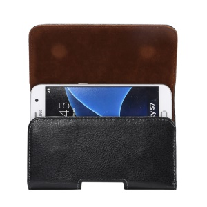 Genuine Leather Belt Clip Case Holster Pouch for iPhone 8 / Samsung Galaxy S7
