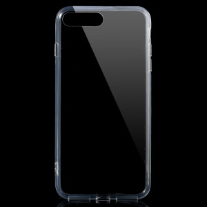 Clear Acrylic Back + TPU Edges Hybrid Case for iPhone 7 Plus 5.5 inch - Transparent
