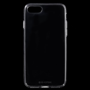 G-CASE 0.5mm Ultra-fina capa TPU para iPhone 8 / 7 4.7 inch - transparente