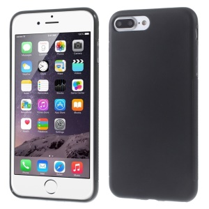 Slim Anti-skid TPU Gel Phone Back Case for iPhone 7 Plus 5.5-inch - Black