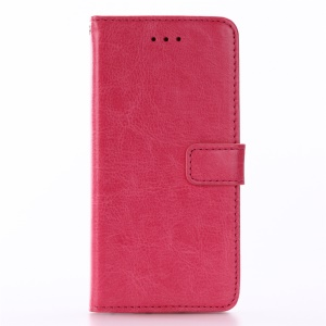 Crazy Horse Stand Leather Wallet Case Cover for iPhone 8 / 7 4.7 inch - Rose
