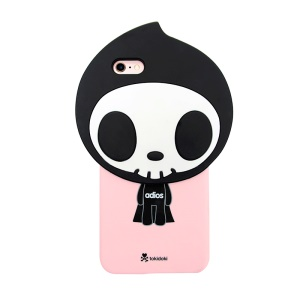 8THDAYS Tokidoki 3D Pattern Hard Case for iPhone 6s Plus/ 6 Plus - Adios-Pink