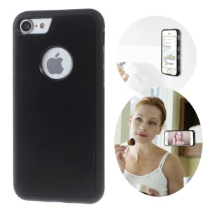 MYFONLO Magic Sticks Anti-Gravity Case for iPhone 7 4.7 inch / 8 4.7 inch Sitck to Mirror Hands-free - Black