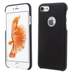 G-Case Noble Series Leather Coated PC Back Case for iPhone 7 4.7 inch / 8 4.7 inch - Black