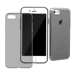 BASEUS Simple Series Clear TPU Cover for iPhone 8 / 7 4.7 inch - Black