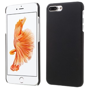 Matte Quicksand Plastic Hard Case for iPhone 7 Plus - Black
