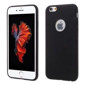 0.8mm Ultra-thin Soft TPU Phone Case for iPhone 6s  / 6 - Black