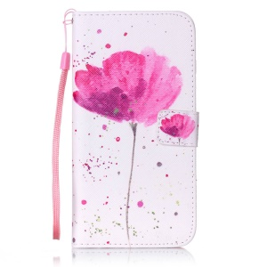 Vivid Patterned Wallet Leather Case for iPhone 7 Plus 5.5 inch - Fresh Flowers