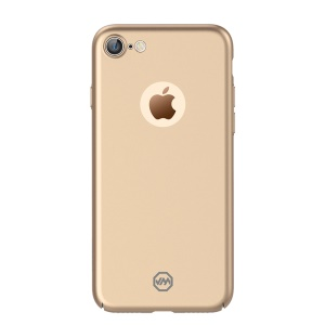 JOYROOM Metal Paint PC Hard Back Case for iPhone 7 4.7 inch / 8 4.7 inch - Gold