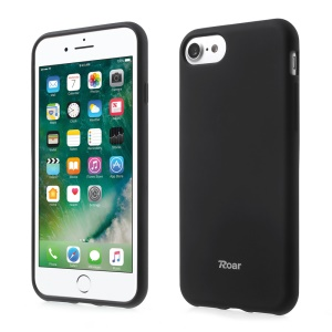 ROAR CORÉIA All Day Jelly Case TPU Cover for iPhone 8/7 4.7 Polegada - negro