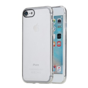 ROCK Pure Series PC + TPU Hybrid Cover for iPhone 7 4.7 inch - Transparent