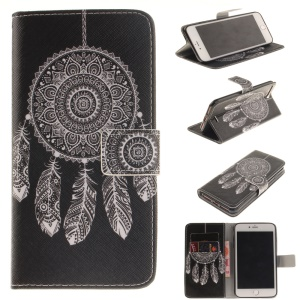 Magnetic Leather Stand Case for iPhone 7 Plus - Dream Catcher