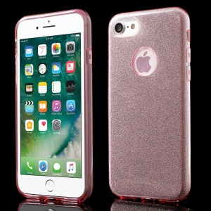 XINCUCO Flash Paper Hybrid PC + TPU Cover for iPhone 8/7 - Rose