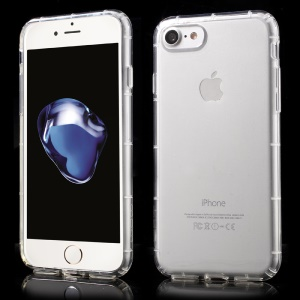 WUW Crystal Clear TPU Case Cover for iPhone 7 Pro - Transparent