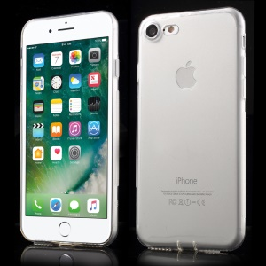KAVARO Clear and Simple TPU Cover Shell for iPhone 8/7 - Transparent