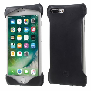 JOYROOM Mustang Horse Genuine Leather Case for iPhone 7 Plus - Black