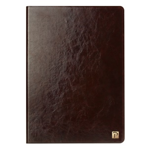 OATSBASF Flip Genuine Leather Protector Cover for iPad Pro 9.7 inch - Brown