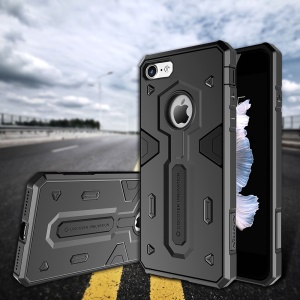 NILLKIN Defender II Strong PC TPU Hybrid Case for iPhone 8/7 - Black