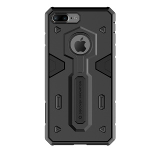NILLKIN Defender II Strong PC TPU combo caso para iPhone 8 Plus / 7 Plus 5.5 inch - negro