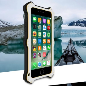 LOVE MEI MK2 Shock-proof Aluminum Silicone Combo Case for iPhone 8/7 4.7 - Silver