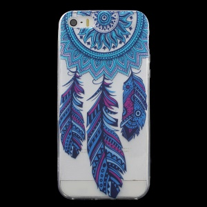 Patterned IMD Gel TPU Cover for iPhone SE/5s/5 - Tribal Dream Catcher