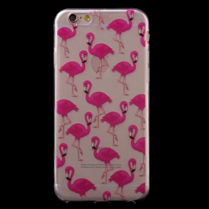 For iPhone 6S 6 4.7 inch Gel TPU Patterned Back Case - Birds