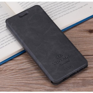 MOFI Vintage Card Slot Leather Case para iPhone 8 / 7 4.7 inch - negro