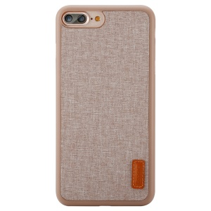BASEUS Sunie Series Cloth Coated PP Cover for iPhone 8 Plus / 7 Plus 5.5 Inch - Khaki
