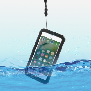 IP68 Waterproof Sport Case for iPhone 7 / 6s / 6 Dirt/Dust/Snow Proof Cover - Black