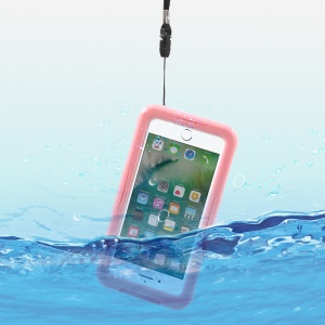 IP68 Underwater Waterproof Case for iPhone 7 / 6s / 6 Dirt/Dust/Snow Proof Cover - Pink