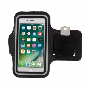Gym Running Sports Adjustable Armband Case for iPhone 8/7 4.7 inch - Black