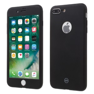 JOYROOM Beetle 360-Degree Protection Kit with PC Case + Screen Protector for iPhone 7 Plus - Black