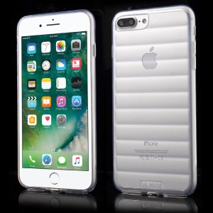 REMAX Wavy Clear TPU Gel Case for iPhone 7 Plus - Transparent