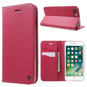 ROAR KOREA ONLY ONE Wallet Stand Leather Flip Shell for iPhone 7 Plus - Rose