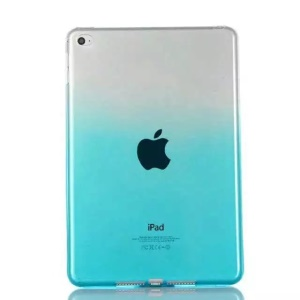 Shell di gel di colore TPU per il iPad Mini 4 - Blu