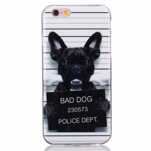 Soft IMD TPU Cover Case for iPhone 6s 6 - Bad Dog