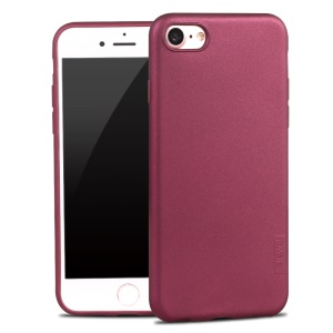 X-LEVEL Guardian Series for iPhone 8/7 Matte Gel TPU Cover - Wine Red
