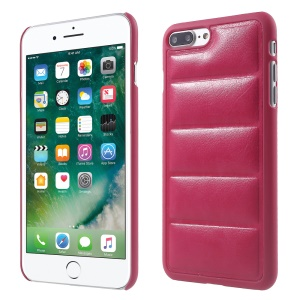 Body Armor Design Leather Coated Plastic Phone Case for iPhone 7 Plus 5.5 inch - Rose