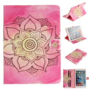 Protective Leather Smart Tablet Cover for iPad Pro 9.7 inch - Mandala Flower